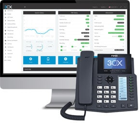 3cx software and phone