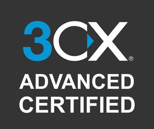 3cx advanced certified logo